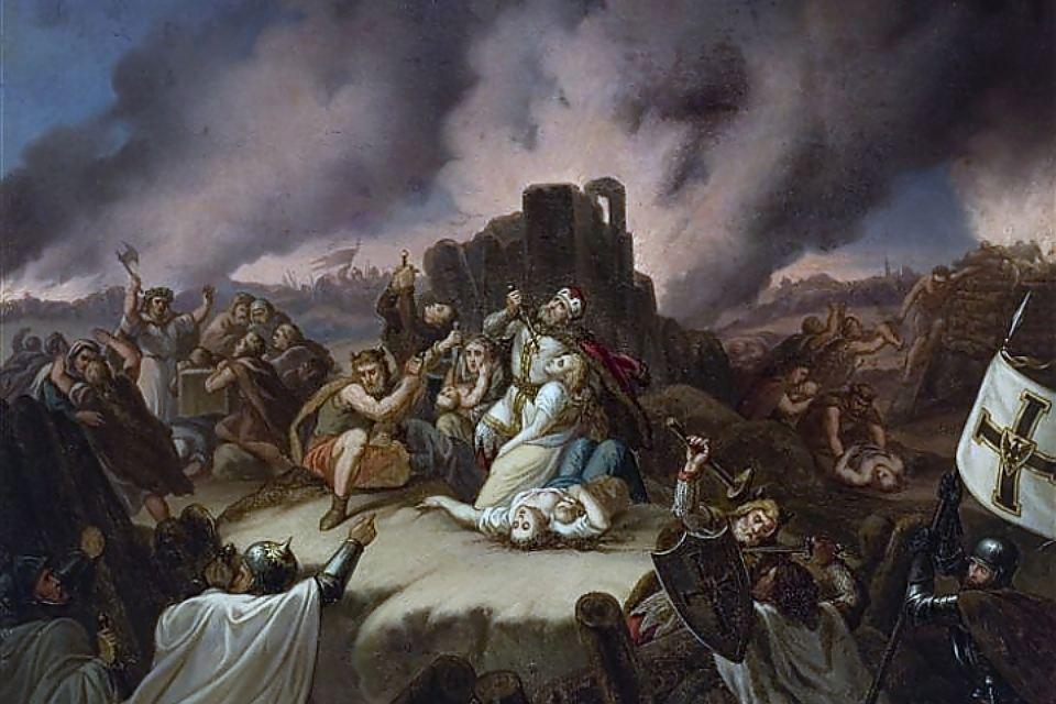 Загадки истории: Как старушка-жрица сотню человек топором зарубила
